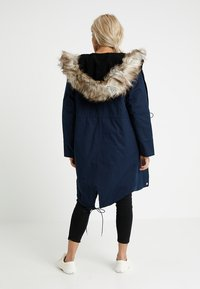 Second Script Petite - PERLA HOODED COAT - Parka - navy - 2