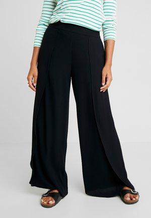 SLFUMA MPANT - Pantaloni - black