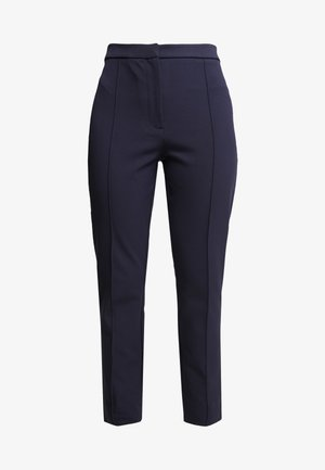 SLFILUE PINTUCK SLIT PANT - Bukser - night sky