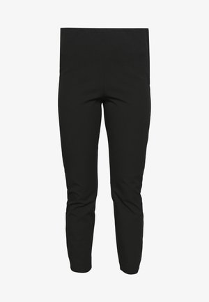 SLFILUE CROPPED SLIM PANT PETI - Trousers - black