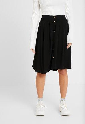 SLFHADLEY SKIRT - Áčková sukně - black
