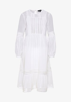 SLFVALENTINA MIDI DRESS PETITE - Robe d'été - snow white