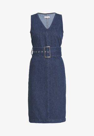 SLFDEMINA INKY  - Denimové šaty - dark blue denim