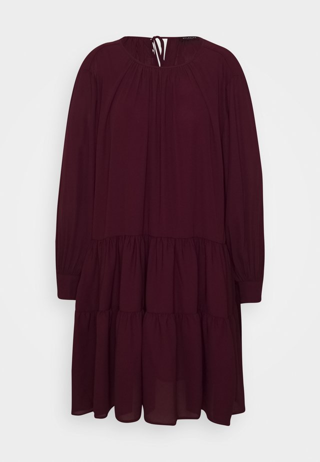 SLFAMAYA SHORT DRESS PETITE - Robe d'été - winetasting