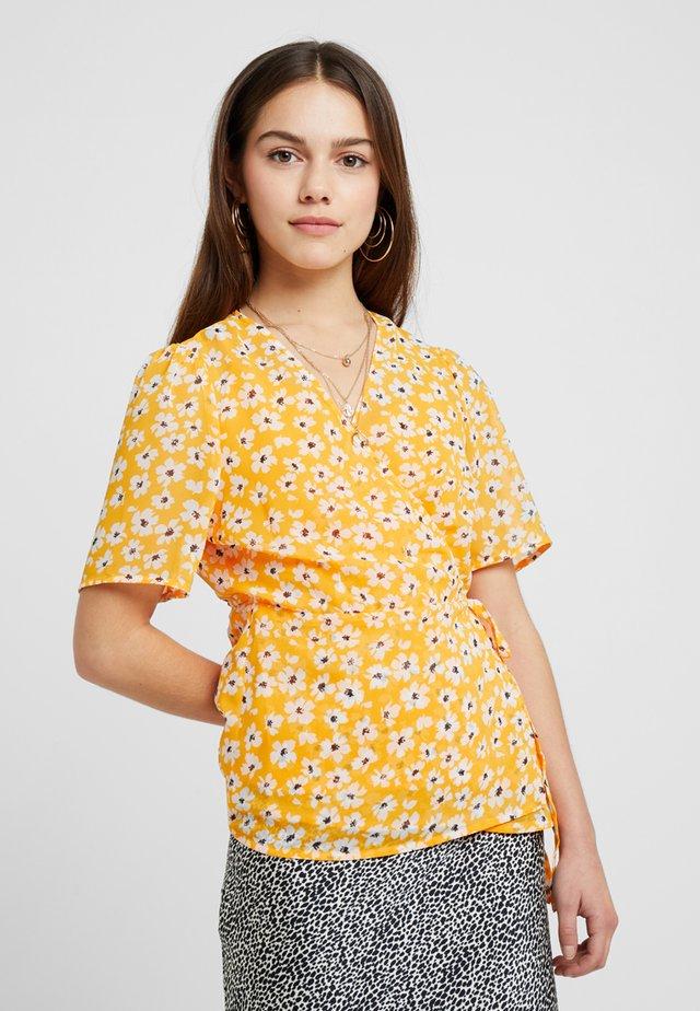 SLFFLEURA FLORI WRAP - Bluser - radiant yellow