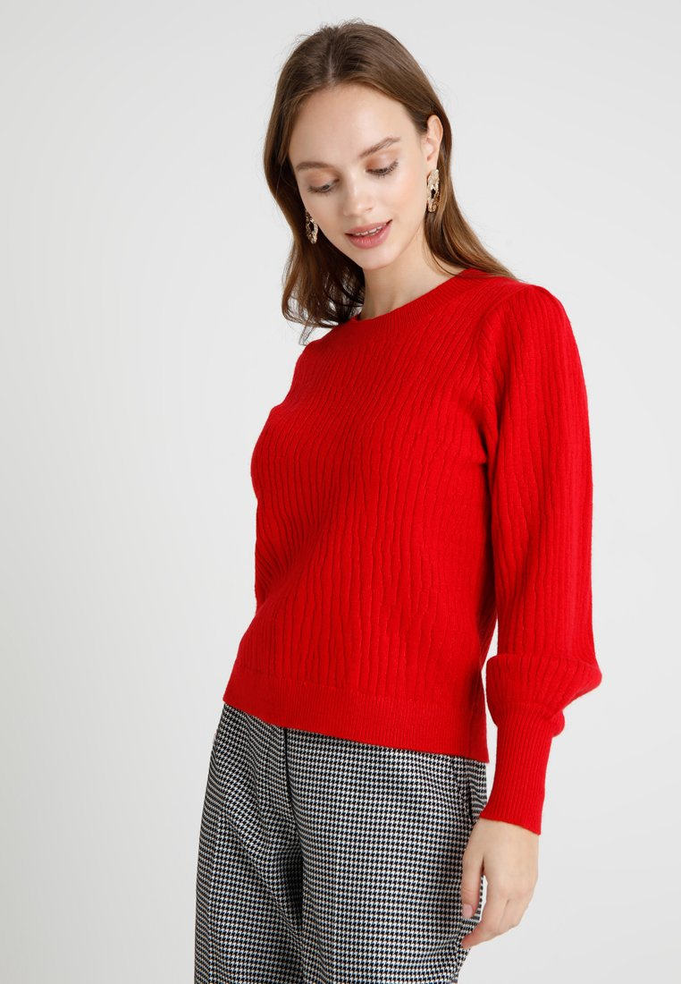 Selected Femme Petite - SLFPHILLIPA O NECK - Pullover - true red