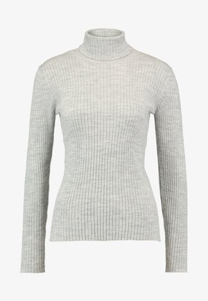 SLFCOSTA ROLLNECK  - Trui - light grey melange