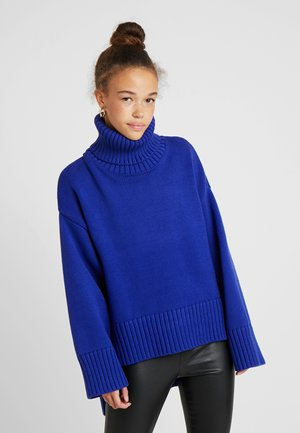 SLFASHA ROLLNECK - Maglione - clematis blue