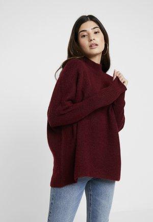SLFENICA - Pullover - cabernet/melange