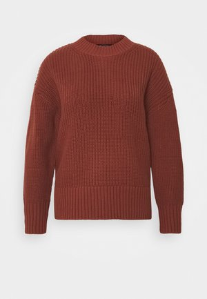 SLFBAILEY SLIT O NECK - Pullover - red