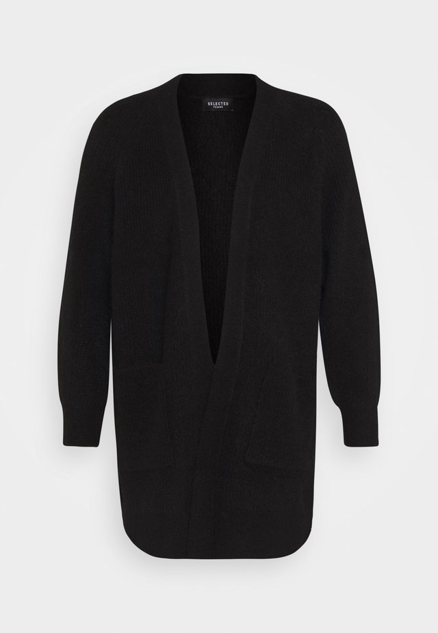 SLFLULU LONG CARD  - Cardigan - black