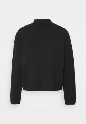 SLFCALI CROP HIGHNECK - Pullover - black