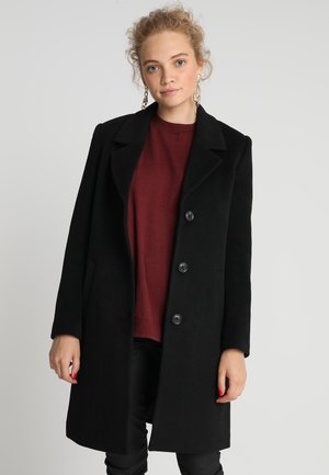 SLFSASJA COAT  - Mantel - black