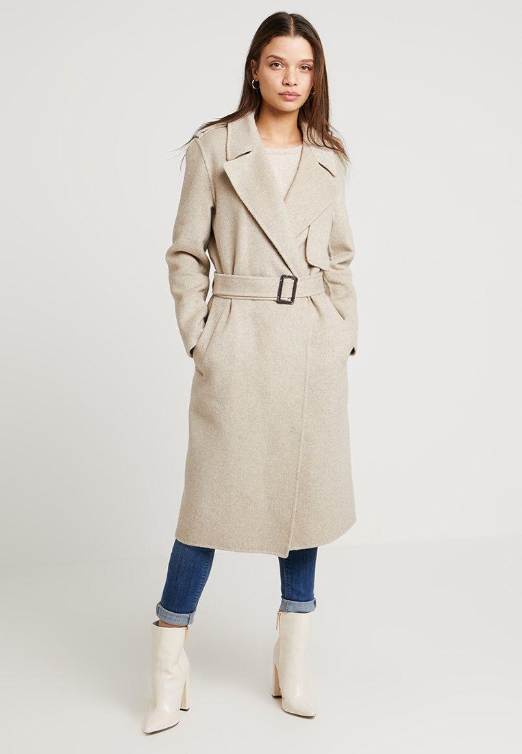 Selected Femme Petite - SLFTANA COAT MELANGE - Zimní kabát - birch