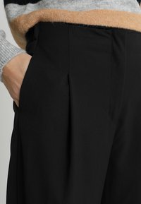 Selected Femme Tall - SLFADORA  ANKLE PANT TALL - Kalhoty - black - 4