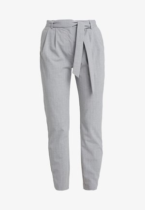 SLFBIO BIGA CROPPED PANT - Bukser - light grey