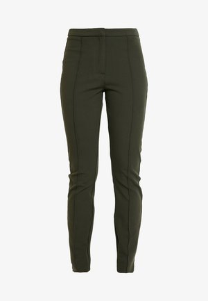 SLFILUE PINTUCK SLIT PANT - Kalhoty - rosin