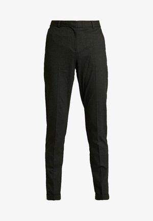 SLFLUNA ANKLE PANT - Bukse - dark grey melange