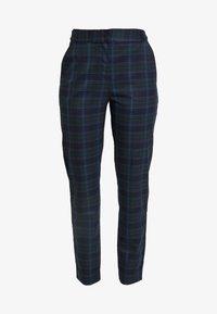 Selected Femme Tall - SLFTALE STRAIGHT PANT - Kalhoty - night sky/comb - 5