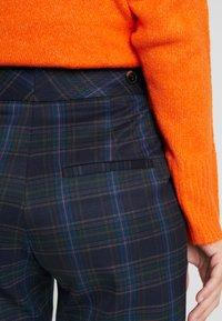 Selected Femme Tall - SLFTALE STRAIGHT PANT - Kalhoty - night sky/comb - 6