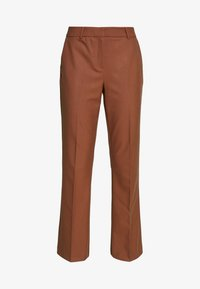 Selected Femme Tall - SLFADA  CROPPED FLARED PANT - Bukse - ginger bread - 4