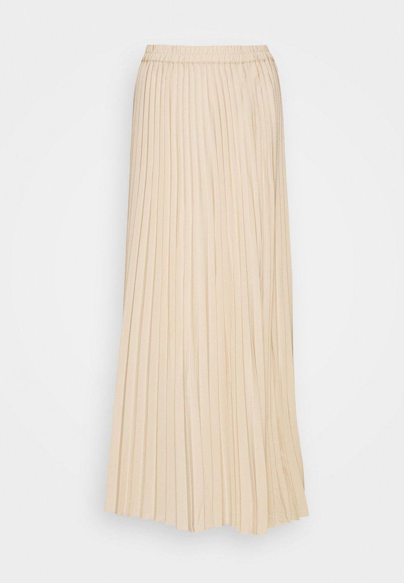 Selected Femme Tall - SLFALEXIS SKIRT - A-Linien-Rock - sandshell