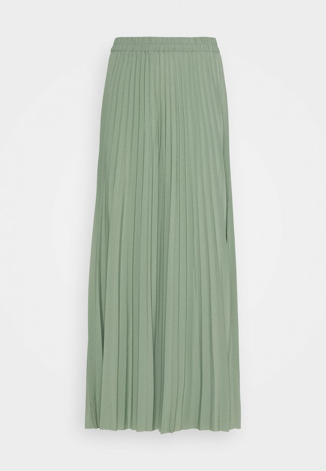 SLFALEXIS SKIRT - Spódnica trapezowa - green