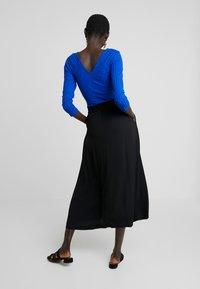 Selected Femme Tall - SLFBISMA MIDI SKIRT - Jupe longue - black - 2