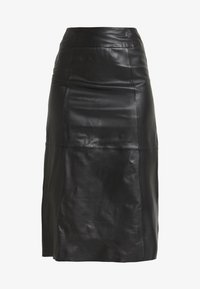 Selected Femme Tall - SLFARDEE SKIRT - Jupe trapèze - black - 4