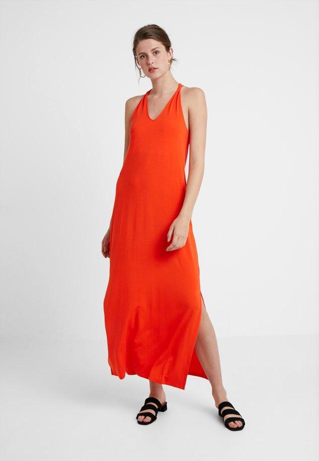 SLFASHA ANKLE DRESS TALL - Maxiklänning - cherry tomato