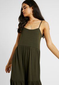 Selected Femme Tall - SLFAIA STRAP DRESS - Jerseykjoler - rosin - 4