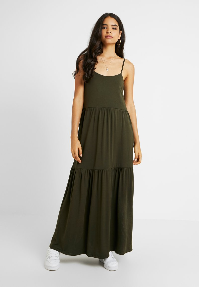 Selected Femme Tall - SLFAIA STRAP DRESS - Jersey dress - rosin