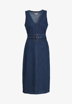 SLFDEMINA DRESS  - Sukienka jeansowa - dark blue denim