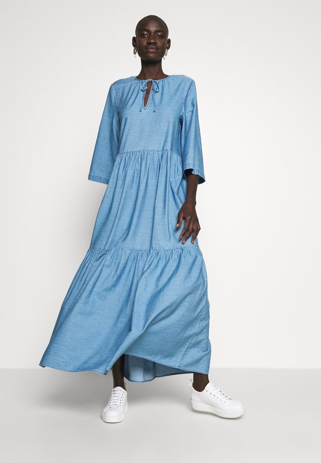 SLFJOY ANKLE DRESS TALL - Hverdagskjoler - light blue