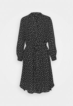 SLFDAMINA 7/8 DRESS - Vestito estivo - black