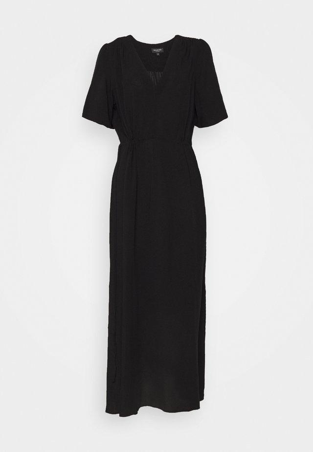 SLFWYNONA-DAMINA ANKLE SLIT - Maxi dress - black