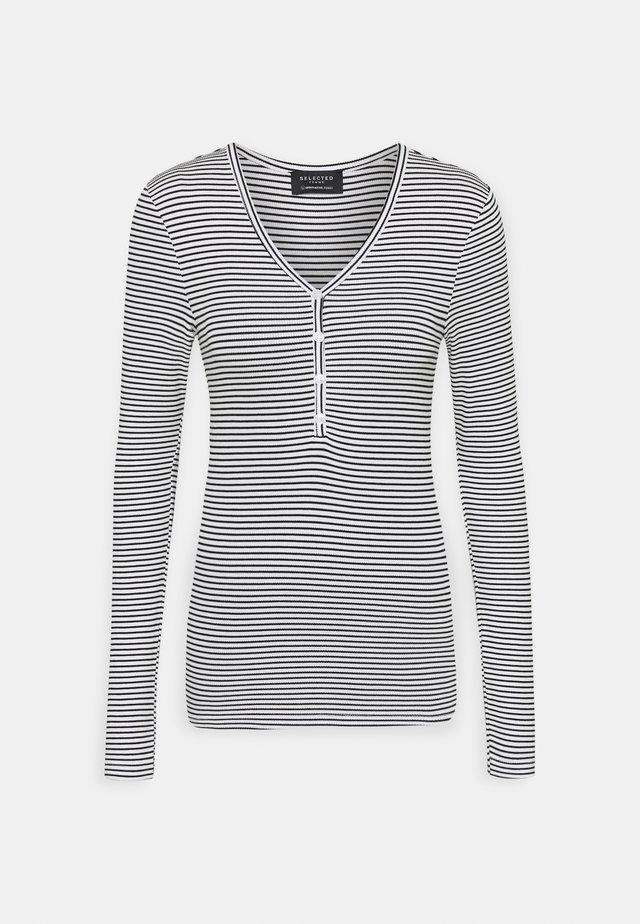 SLFNANNA - Bluzka z długim rękawem - bright white