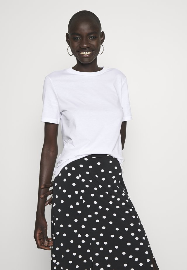 SFMY PERFECT TEE BOX CUT  - T-Shirt basic - white
