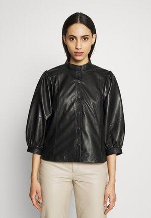 SLFMILLA - Button-down blouse - black