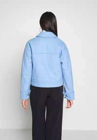 Selected Femme Tall - SLFBETTY JACKET - Tunn jacka - della robbia blue/melange - 2