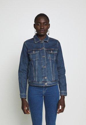 SLFSTORY SPRUCE JACKET - Veste en jean - dark blue denim