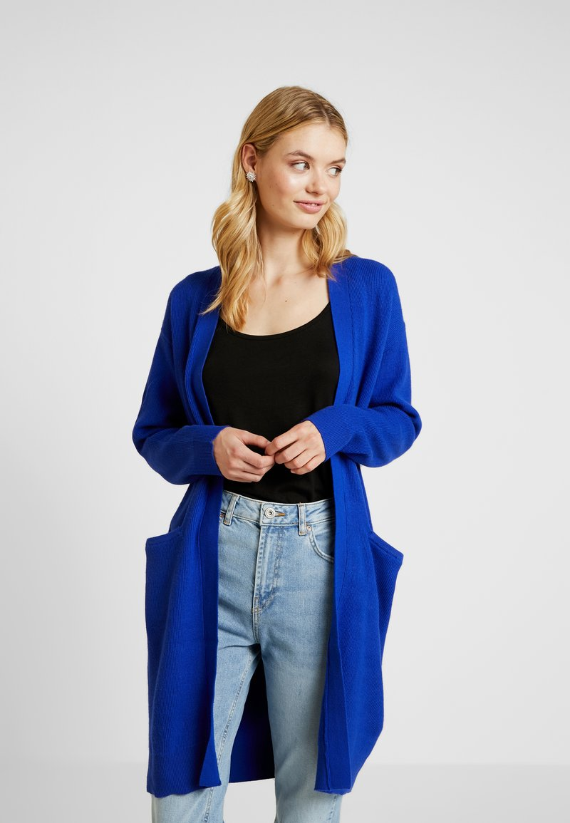 Selected Femme Tall - SLFPHILUA CARDIGAN - Strickjacke - clematis blue