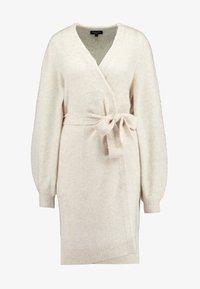 Selected Femme Tall - SLFANNA CARDIGAN - Vest - sandshell - 4