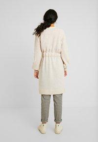 Selected Femme Tall - SLFANNA CARDIGAN - Vest - sandshell - 2