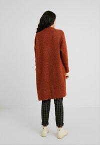 Selected Femme Tall - SLFLANNA CARDIGAN - Cardigan - ginger bread/melange - 2