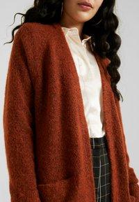 Selected Femme Tall - SLFLANNA CARDIGAN - Cardigan - ginger bread/melange - 5