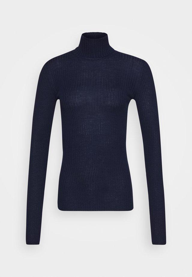 SLFCOSTA ROLLNECK TALL - Strickpullover - maritime blue