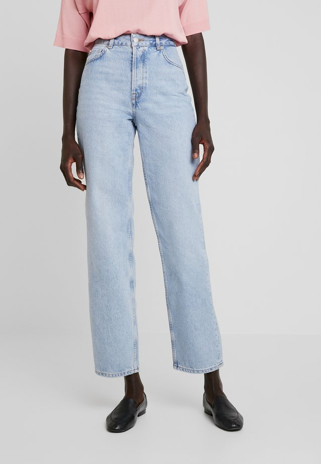 SLFKATE - Straight leg jeans - medium blue denim