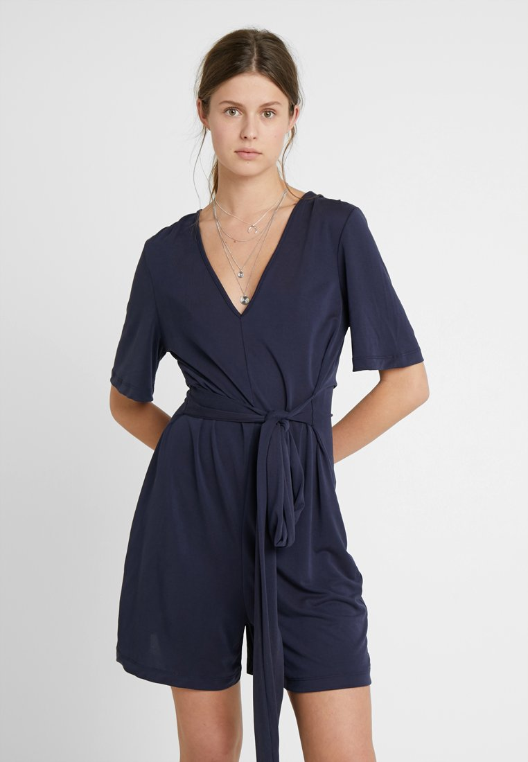 Selected Femme Tall - SLFELENA PLAYSUIT TALL - Overall / Jumpsuit - night sky