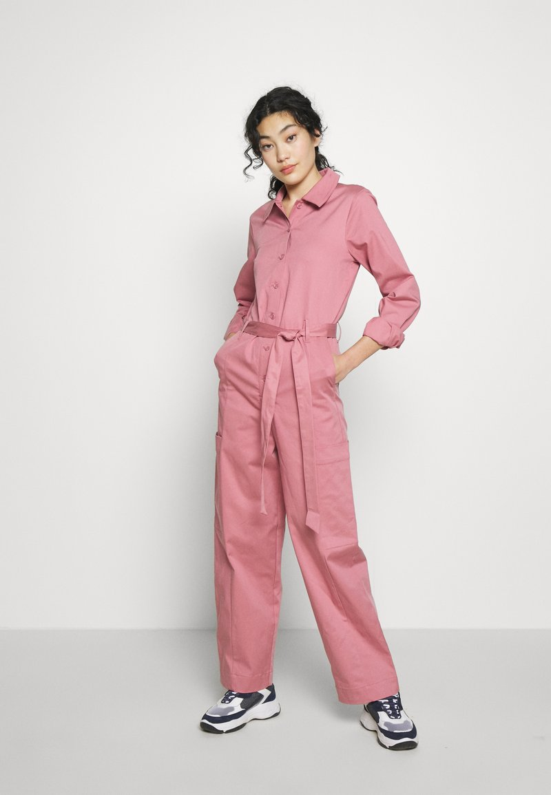 Selected Femme Tall - SLFLARA  - Overall / Jumpsuit /Buksedragter - heather rose